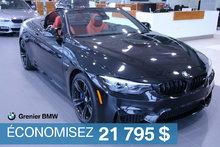 BMW M4 Cabriolet, plus de 16 000$ d'options !! 2018