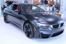 BMW M4 Coupe ,Noir Mat, M transmission et suspension 2018