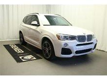 BMW X3 35i Msport et premium essentiel ,a partir 0,9% 2015