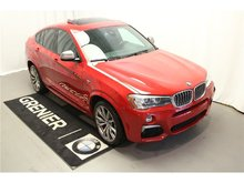 BMW X4 M40i, Groupe M, Groupe premium 2017