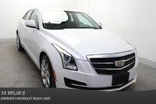 Cadillac ATS SEDAN AWD Turbo *TOIT CUIR DÉM.À.DIST CAM.REC* 2015