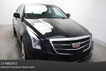 Cadillac ATS SEDAN AWD Turbo AWD CUIR TOIT GROS ECRAN 2015