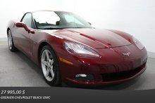 Chevrolet Corvette V8 6.0L *CUIR SIÈ.CHAUF ÉCR.TACT* 2007