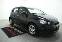 Chevrolet Sonic LT+ÉCRAN TACTILE+BLUETOOTH+SIEGES CHAUFF+ONSTAR 2013