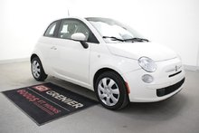 Fiat 500 POP+BLUETOOTH+PNEUS EXTRA+RÉGULATEUR DE VITESSE 2013