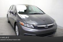 Honda Civic EX *TOIT AIR CLIM GR.ÉLECT* 2012