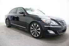 Hyundai Genesis sedan V8+CUIR+TOIT+GPS+MAGS 18PO 2012