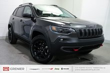 2019 Jeep Cherokee TRAILHAWK+V6+4X4+LED+TRAIL TOW GROUP