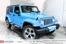 2017 Jeep Wrangler Unlimited MARCHEPIEDS + ÉCRAN TACTILE + MAGS