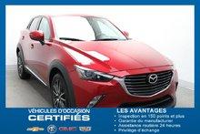 Mazda CX-3 AWD GT *NAV TOIT CUIR CAM.REC* 2017