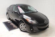 Mazda Mazda3 GS-SKY+DÉMARREUR+BLUETOOTH+BAS KM+TOIT 2013