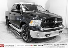 2017 Ram 1500 Outdoorsman + Crochets de remorquage + Bluetooth