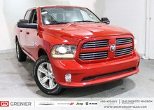 2017 Ram 1500 BLUETOOTH + RADIO SATELLITE + CUIR