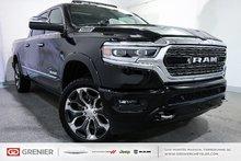 Ram 1500 LIMITED+CREW CAB+TOIT PANO+NAV+ÉCRAN 12'' 2019