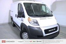 Ram ProMaster Cargo Van BLUETOOTH+CAMÉRA+A/C+3 PASSAGERS 2019