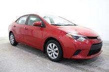 Toyota Corolla **WOW-ECO+GR.ELECT.TOUT-ÉQUIPÉ+MAG+A/C-BAS-KILO** 2014