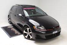 2015 Volkswagen Golf GTI AUTOBAHN+TOIT+CUIR+NAV