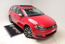 Volkswagen GOLF SPORTWAGEN COMFORTLINE+NAV+TOIT+AUBAINE 2016
