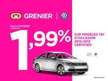 Volkswagen Golf wagon TDI+COMFORTLINE+AUBAINE 2013