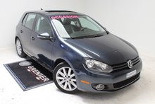 2012 Volkswagen Golf HIGHLINE+TDI+BAS KM+AUBAINE