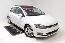 Volkswagen Golf HIGHLINE+NAV+TOIT+GARANTIE 2015