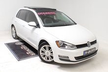 2015 Volkswagen Golf TDI+HIGHLINE+NAV+VENTE 0%