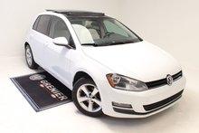 2015 Volkswagen Golf COMFORTLINE+TDI+TOIT+BAS KM