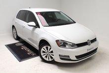 Volkswagen Golf TDI+COMFORTLINE+GARANTIE+DÉMARREUR 2015