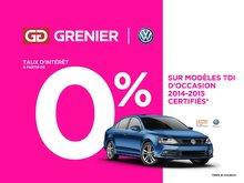 Volkswagen Jetta TDI+COMFORTLINE+TOIT+BAS KM 2015