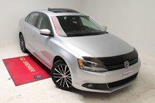 Volkswagen Jetta TDI+HIGHLINE+TOIT+AUBAINE 2013