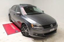 Volkswagen Jetta TDI+HIGHLINE+TOIT+BAS KM+AUBAINE 2014