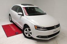 Volkswagen Jetta TDI+MAGS+TOIT+BLUETOOTH+AUBAINE 2014