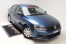 2015 Volkswagen Jetta BLUETOOTH+BAS KM+CAM DE RECUL