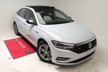 2019 Volkswagen Jetta R-LINE+TOIT PANO+CUIR+INTERIEUR 2 TONS+APP-CONNECT