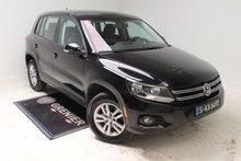 2013 Volkswagen Tiguan A/C+SIÈGES CHAUFFANTS+AUBAINE