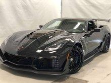 2019 Chevrolet Corvette COUPE ZR1 755HP kit carbon cuir mags HRE RARE!!!