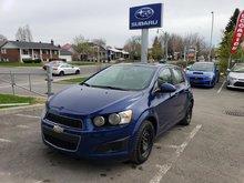 2013 Chevrolet Sonic LS MANUELLE