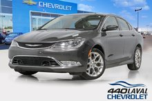 2015 Chrysler 200 C AWD V6 cuir toit panoramique volant chauffant