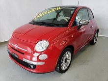 2012 Fiat 500 LOUNGE TOIT PANORAMIQUE