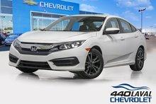 2016 Honda Civic LX automatique caméra de recul sièges chauffants