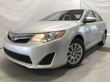 Toyota Camry LE A/C BLUETOOTH BAS KILOMETRAGE 2012