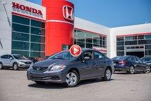 2015 Honda CIVIC SDN LX GARANTIE 10ANS/200