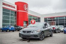2013 Honda CIVIC  EX GARANTIE 10 ANS/200