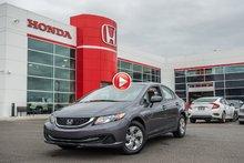 2014 Honda CIVIC SDN LX GARANTIE 10 ANS/200