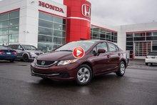 2015 Honda CIVIC LX GARANTIE 10 ANS/200