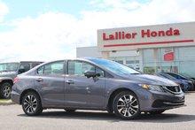 2015 Honda Civic Sedan EX / HONDA CANADA CERTIFIÉ 7 ANS/160KM