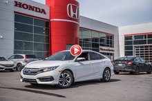 2017 Honda CIVIC SDN LX GARANTIE 10 ANS/200