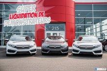 2018 Honda CIVIC SDN SE ACHAT 96 MOIS $75.76 /SEMAINE