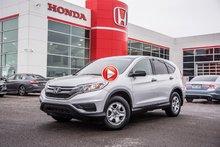 2016 Honda CR-V LX 2W LX/GARANTIE 10ANS 200