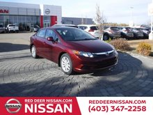 2012 Honda Civic EX-L | HEATED LEATHER SEATS |  AUTOMATIC